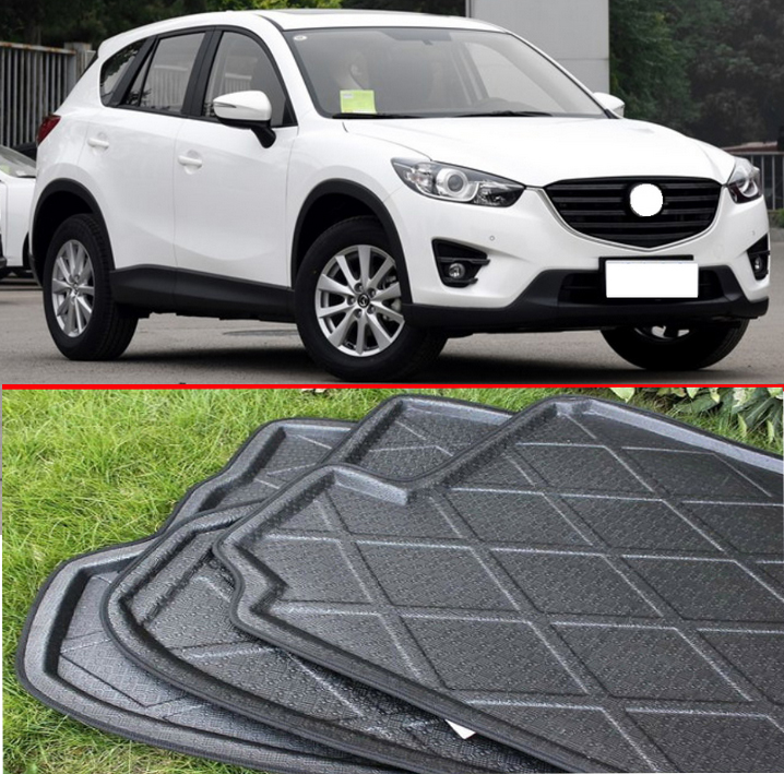 For mazda cx5 cx 5 2012 2016 rubber foam trunk tray liner cargo mat floor protector in interior