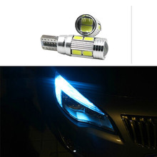 2 x T10 W5W T16 LED Parking Lights Sidelight Marker Lamps Bulb No Error Canbus For Opel Agila Zafira Vectra Astra