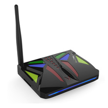 M96X VBOX Smart TV Box 3D 4K Streaming Media Player Android 7.1 Amlogic S905X Quad Core 2G+16G WiFi LAN Mini TV Box(China)