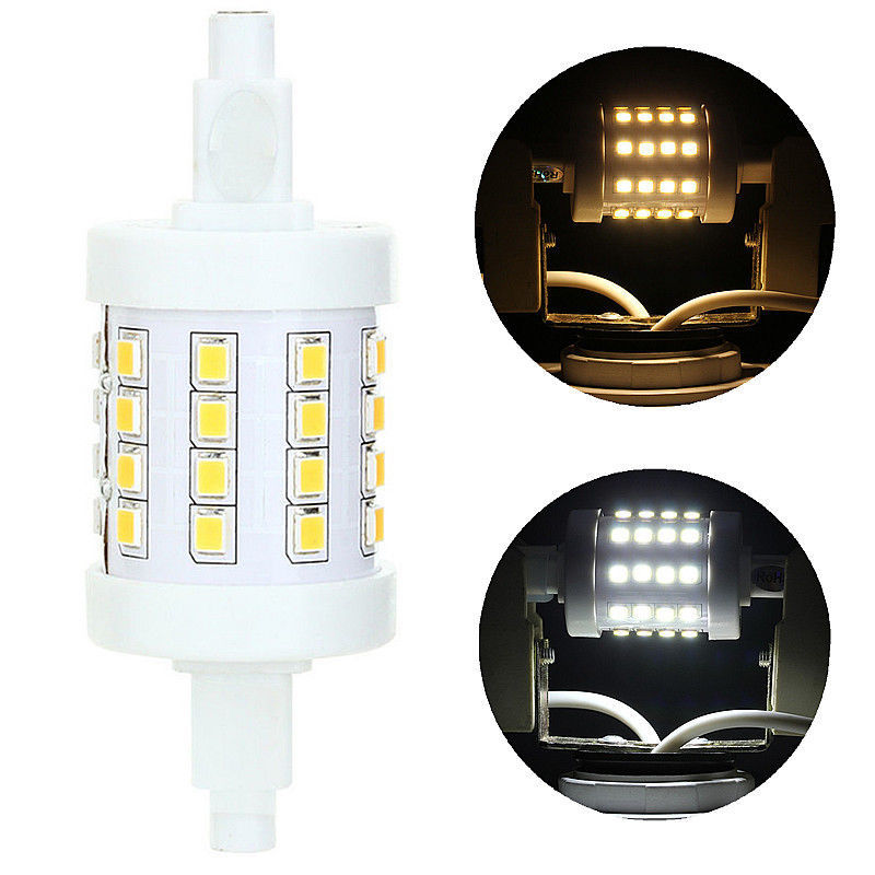 Big Discount R7S LED 5W 360 Beam Angle 78mm SMD2835 LED Replacement Wall Security Flood Light Corn Lamp Bulb New<br><br>Aliexpress