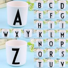 Creative New Safety 26 Letters Baby Drink Cup Lovely Milk Alphabet Mug Design Perfect for Household Milk Cup Ceramic Paste