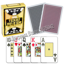 Copag Texas Hold'em Poker Size Jumbo Index 100% Plastic Playing Cards Casino Quality Poker Tourment Made In Belgium