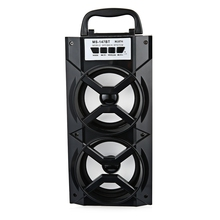 MS-147BT Portable High Power Output FM Radio Wireless Bluetooth Speaker Loudspeaker support FM Radio TF Card AUX 600mAh Battery