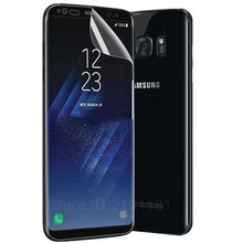 Buy Samsung Galaxy S8 Screen Protector 3D Curved Full Cover Protective Film Samsung S8 plus Film (Not Tempered Glass) for $1.09 in AliExpress store