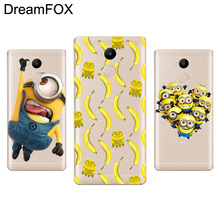 Buy DREAMFOX L067 Minions Soft TPU Silicone Case Cover Xiaomi Redmi Note 3 3S 4 4A 4X Pro Global for $1.14 in AliExpress store