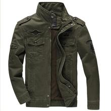 2016 Man BEst Jacket Brand Jacking man winter jackets Men coats Army Military Outdoors High quality Stand collar Jacking M~6XL(China)