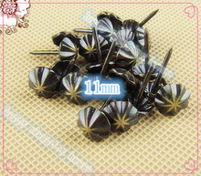 Hardware Antique iron Bronze nail Decorative Upholstery Nail Jewelry Gift Box Sofa Decorative Tacks Doornail 11MM*14MM