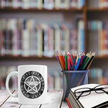 Pentagram Esoteric Coffee tea cups beer mugs friend gifts coffee mugs ceramic cup novelty home decal(China)