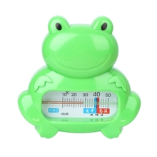 Water Room Thermometer Baby Bathing Frog Shape Temperature Infant Kid Shower Toy(China)