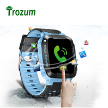 New Smart Phone Watch GPS Children Kid Wristwatch Y21G GSM GPRS Locator Tracker Anti-Lost Smartwatch Child Guard for iOS Android(China)