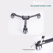 Twzz Trackless Drifting Car Tripod Slider Camera Tripod Dolly Moving Car(China)