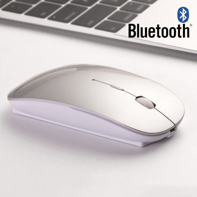 Wireless Tablet Mouse for Computer Android Tablets Windows PC Rechargeable Bluetooth Mouse for Macbook Acer Asus Lenovo Xiaomi(China (Mainland))