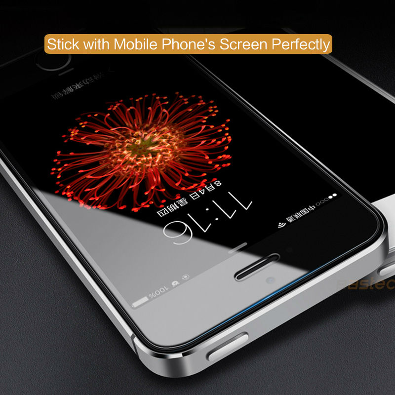 2-PCS-For-Apple-iPhone-5-Tempered-Glass-Film-Topk-9H-Hardness-HD-Tempered-Glass 1