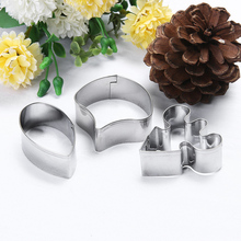 3pcs/set Butterfly Orchid Flower Petal Fondant Cake Mold Cutter Tools Baking Decoration