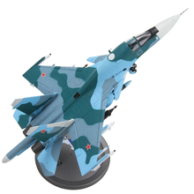 Brand New Terebo 1/72 Scale Fighter Model Toys Russia SU-34 (SU34) Flanker Combat Aircraft Kids Diecast Metal Plane Model Toy