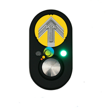 New trendy road safety pedestrian push button LED traffic light parts(China)