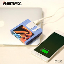 Remax Disk 5000mAh USB External Battery Charger Mobile Power Banks For iPhone6 7 8 Samsung S8 plus OPPO R11 Xiaomi hongmi note4X