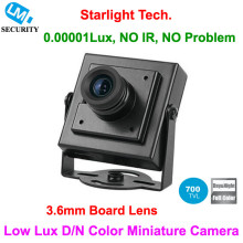 Cheapest! LM Security Top Free Shipping 700TVL 3.6mm Board Lens Ultra Low Lux Day and Night Color image Mini Square Camera