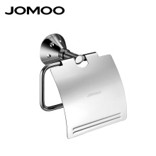 JOMOO Brand Wall Mounted Toilet Paper Holder Chrome Crystal Papel Higienico Holders Bathroom Accessories Tissue Roll Holder(China)