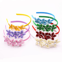 Cute Solid Color Stars Hair Band Kids Beautiful Rhinestone Headband Princess Headwear Girls Hair Accessories