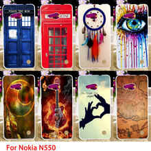 Soft TPU Cases For Microsoft Nokia Lumia 550 N550 4.7 inch Dreamcatchers Hard Cell Phone Cover Housings Bags Sheaths Skin Hood