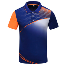 New badminton shirt Men/ Women Quick Dry breathable Tshirt , Sports Tennis shirt , table tennis shirt 1008(China)