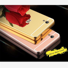 For ZTE Blade X3 case Luxury Rose Gold Aluminum Mirror Back Cover Case For ZTE Blade X3 shell Back Cover ZTE X3