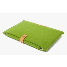 New Notebook Laptop Sleeve for Macbook Air/Pro Case Cover Computer Bag Laptop Bag, Green 15 Inch