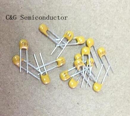 Multilayer ceramic capacitor 22PF 220 NPO 5mm 100pcs