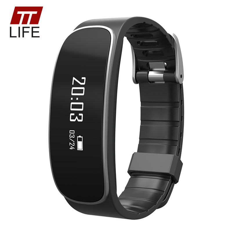 TTLIFE Bluetooth Heart Rate Monitor Smart Watch Men Waterproof Sport Bracelet Sleep Monitor Pedometer Male Wristband for Android<br>