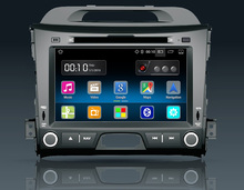8 inch Android Car DVD Player for Kia Sportage R 2009 2010 2011 2012 Stereo Radio gps 3g OBD2 mirror link built in wifi