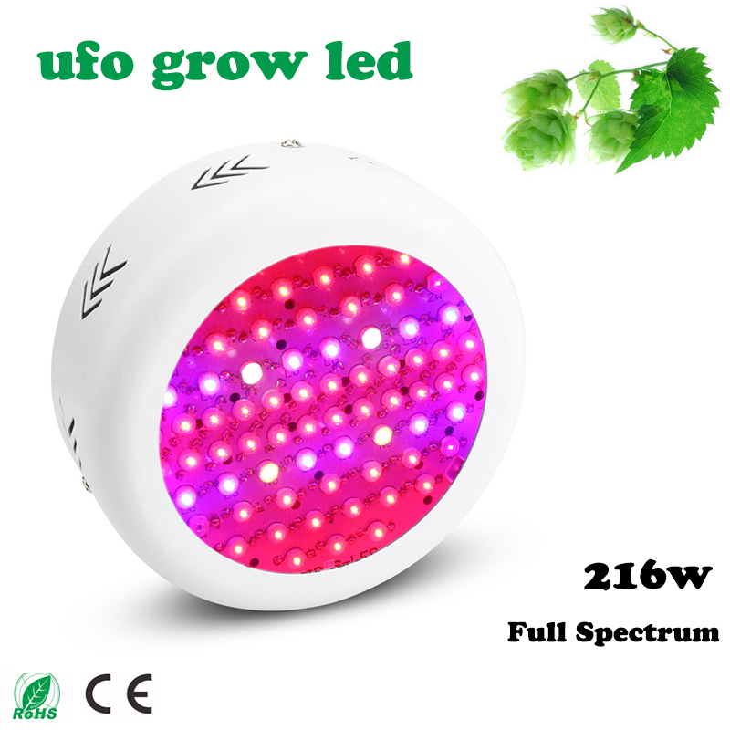 Hot Selling Full Spectrum 216W Mini UFO LED Plant Grow Light Emitting Diode Bring Magic Of The Sun Indoors With Grow Lights<br>