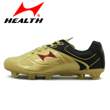 Health child football shoes cleats boots broken spikes professional athletic wear-resistant kids soccer shoes for boys children