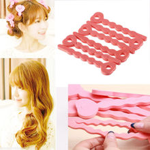 6 Pcs/lot Hot Selling Sponge Curler Hair Rollers Soft Foam Sponge Hair Curlers Tools Strip Salon Hair Style Tools
