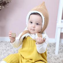 Fashion Autumn Winter Warm Cotton Baby Hat Girl Boy Toddler Infant Kids Warm Fleece Caps Cute Baby Accessories for 3-24M(China)