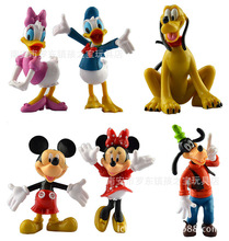 Mickeys & Mouse Clubhouse PVC Action Figures Model Toy Minnie Mouse Anime Figurines Kids Toys For Boys Girls Children
