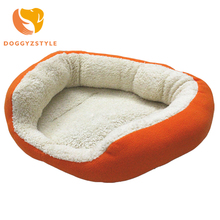 DOGGYZSTYLE Dog Cat Bed House Warm Breathable Soft 5 Color Pet Nest Dog Sofa Cushion Cat Litter Super Warm Kennel Beds Nests 45(China)