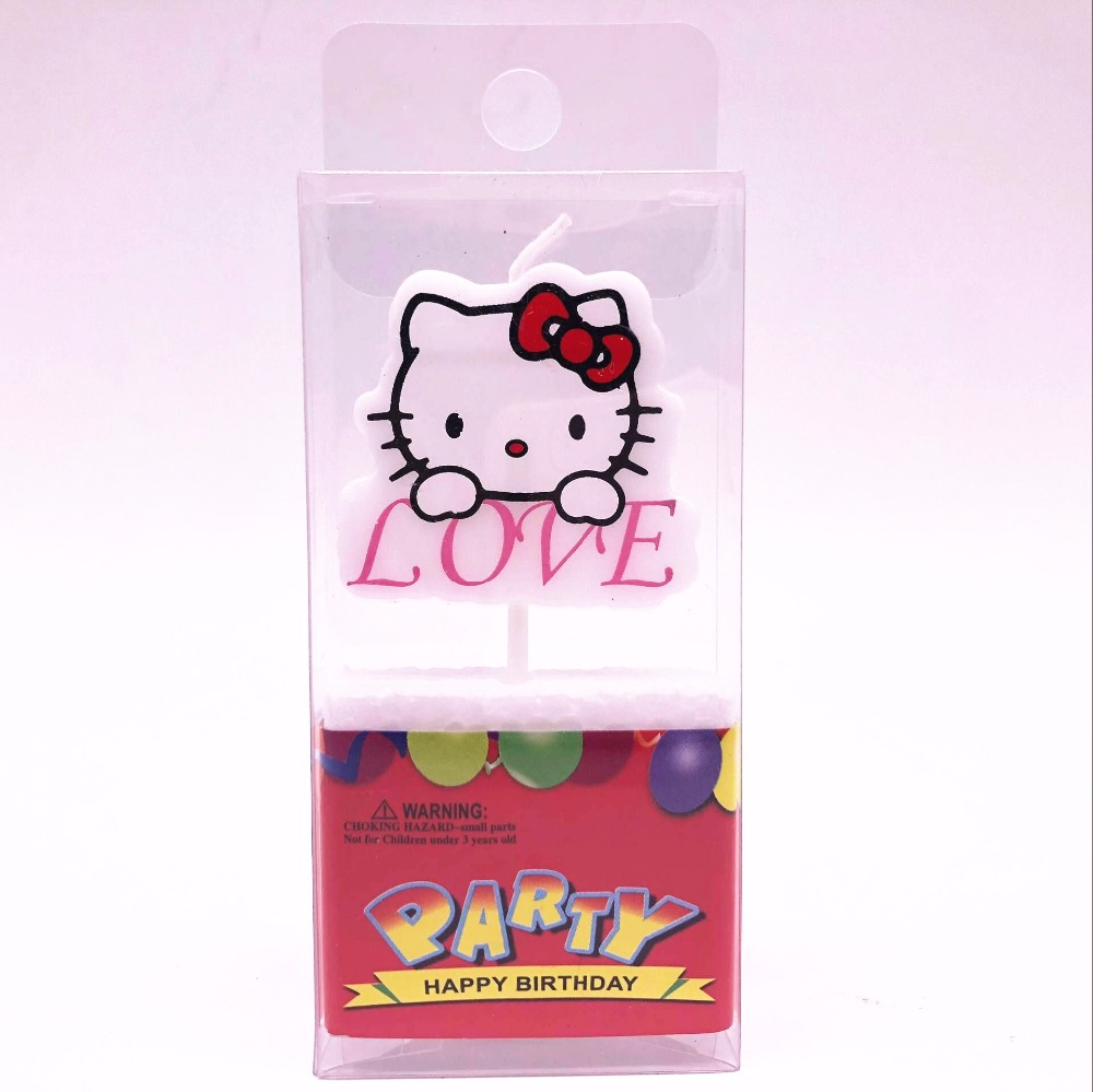 Detail Feedback Questions About 1pcs Hello Kitty Birthday Candles