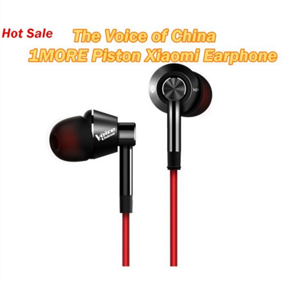 Original 1more Earphone And The Voice of China Title Sponsorship Bass Piston In-Ear For iPhone Xiaomi Original Box<br><br>Aliexpress
