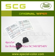 4pcs/lot Low Price Solvent Cleaning Wiper Original for Roland SJ745ex/SC540/SP540V Wipper