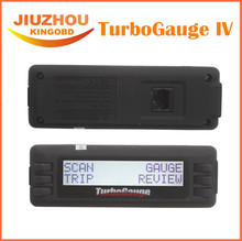 2016 Top Rated Newest TurboGauge IV Auto Computer Scan Tool Digital Gauge 4 in 1 Vehicle Computer OBDII/EOBD car trip computer