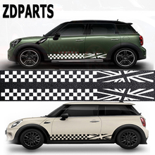 ZDPARTS 2pcs Car Styling Fender Door Side Decals Stickers Bmw Mini Cooper R56 R50 R53 F56 F55 R60 R57 Mercedes Smart fortwo