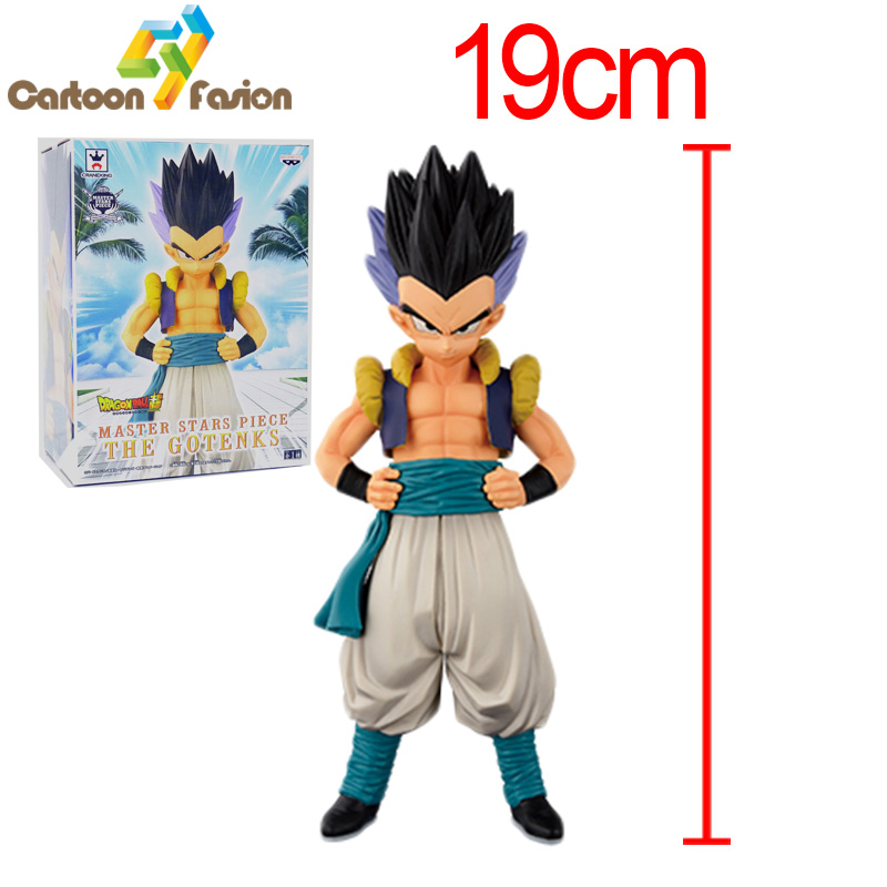 High Quality Dragon Ball Z DBZ Super Saiyan Gotenks PVC Action Figure Collectible Model Toys For Kids Gifts 19cm<br><br>Aliexpress