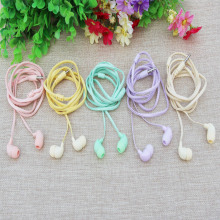 MOONBIFFY Color lasagna universal earphones for Apple Samsung brand mobile phone number free shipping quality