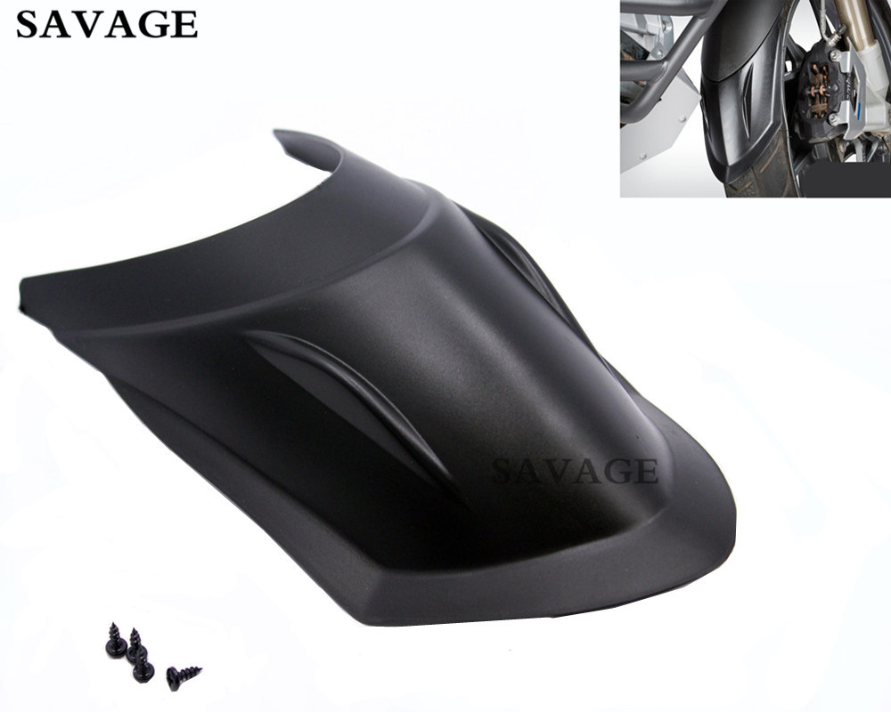 Motorcycle Modified Front Mudguard Fender Extender Extension For BMW R1200GS LC 2013-2015 R1200GS ADV 2014-2016 ABS plastic<br>