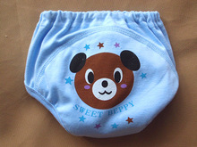 Nappy Toddler Girls Boys waterproof cotton potty training pants Hot High Quality Baby Diapers Nappies Cloth 8pcs YY298(China)