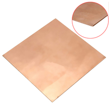 1pc 99.9% Pure Copper Sheet Mayitr Thin Metal Copper Cu Plate Foil 100mmx100mmx1mm(China)