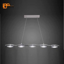 new brief style modern Acrylic chandelier LED lamp for dinning room light fixtures bar light