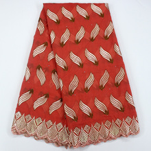 Special offer african swiss voile lace fabric high quality white/red/purple/peach/grey embroidered cotton fabric