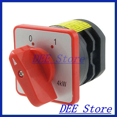 4kW AC 380V 20A 8 Screw Terminals 4 Position Universal Cam Switch<br><br>Aliexpress